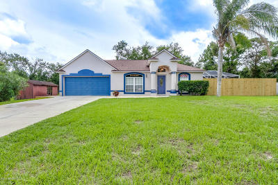 Cocoa Single Family Home Contingent: 6275 Marcy Street