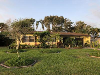 Satellite Beach Single Family Home For Sale: 142 NE 1st Street