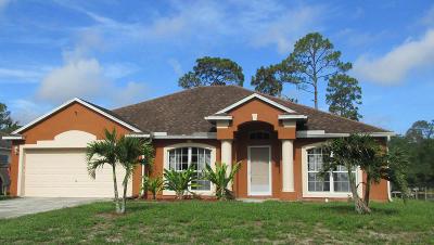 Vero Beach Single Family Home For Sale: 8145 104th Court