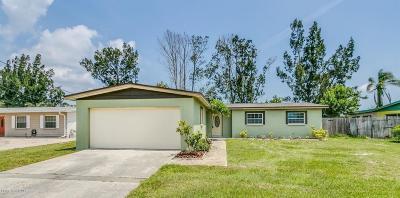 Merritt Island Single Family Home For Sale: 180 Becora Avenue