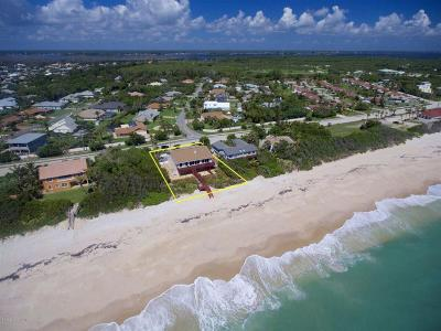 Indialantic, Melbourne, Melbourne Beach, Satellite Beach, Cocoa Beach, Cape Canaveral Single Family Home For Sale: 7087 S Highway A1a