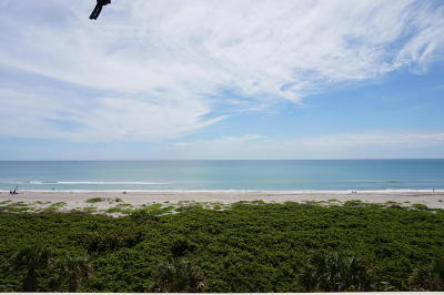 Cocoa Beach Condo For Sale: 830 N Atlantic Avenue #502