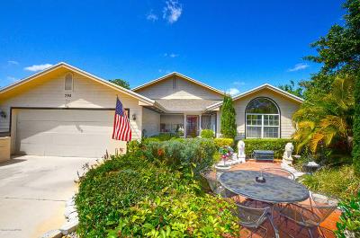 Vero Beach Single Family Home For Sale: 790 Fox Trail SW