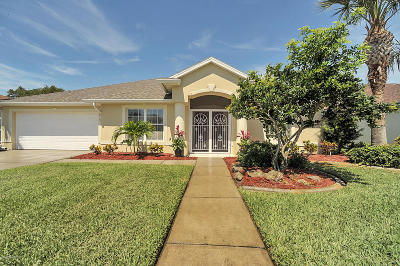 Rockledge Single Family Home For Sale: 2619 Canterbury Circle