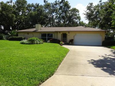 Merritt Island Single Family Home For Sale: 3655 Laurette Road