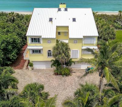 Melbourne Beach Half Duplex For Sale: 9325 S Highway A1a