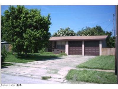 Merritt Island FL Single Family Home For Sale: $140,000