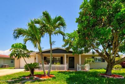 Indialantic, Indialantic, Fl, Indialantic/melbourne, Indialntic, Indian Harb Bch, Indian Harbor Beach, Indian Harbour Beach, Indiatlantic, Melbourne Bch, Melbourne Beach, Satellite Bch, Satellite Beach Single Family Home For Sale: 278 Pine Tree Drive