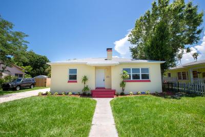 Melbourne Single Family Home For Sale: 607 E Fee Avenue