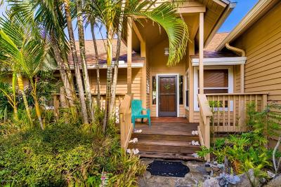 Melbourne Beach FL Single Family Home For Sale: $465,000