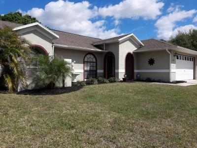 Palm Bay FL Single Family Home Contingent: $174,900