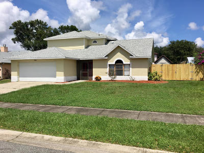 Rockledge Single Family Home For Sale: 890 Wandering Pine Trail