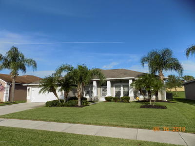 Rockledge Single Family Home For Sale: 5327 Indigo Crossing Drive