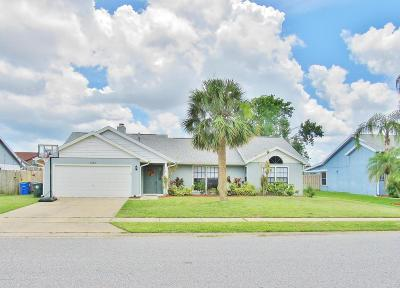 Rockledge Single Family Home For Sale: 1247 Walnut Grove Way
