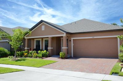 Rockledge Single Family Home For Sale: 3985 Harvest Circle