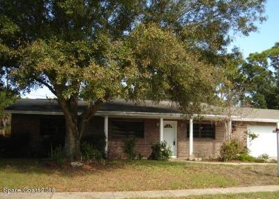 Titusville Single Family Home For Sale: 2862 Epp Bivings Drive