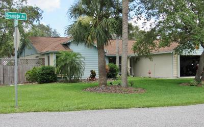 Cocoa Single Family Home For Sale: 6795 Bermuda Avenue