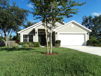 Palm Bay FL Single Family Home For Sale: $185,000