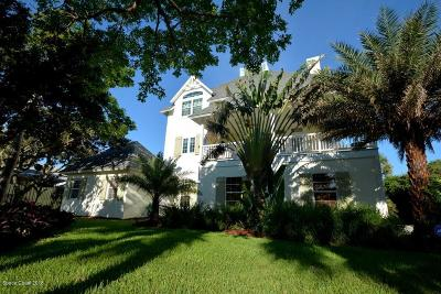 Melbourne Beach Single Family Home For Sale: 6360 S Highway A1a