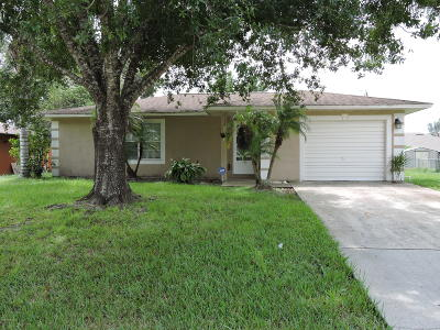 Palm Bay Single Family Home For Sale: 974 Emerald Road SE