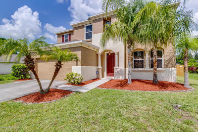 Palm Bay Single Family Home For Sale: 270 Mirage Avenue SE