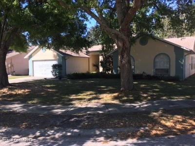 Melbourne Single Family Home For Sale: 3312 Meadowridge Drive