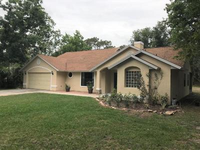 Cocoa Single Family Home For Sale: 4820 Banana Avenue