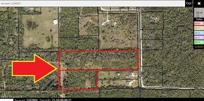 Mims Residential Lots & Land For Sale: North Of 3030 Hammock Road