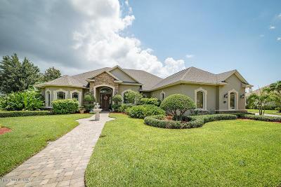 Merritt Island Single Family Home For Sale: 3051 Southern Oaks Drive
