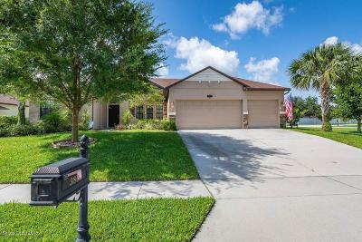 Titusville Single Family Home For Sale: 3869 Ventnor Drive
