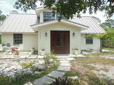 Vero Beach Single Family Home For Sale: 7940 97th Avenue