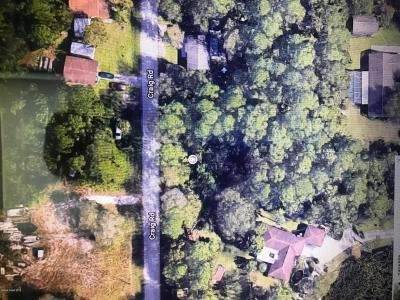 Cocoa Residential Lots & Land Contingent: 5055 Craig Road