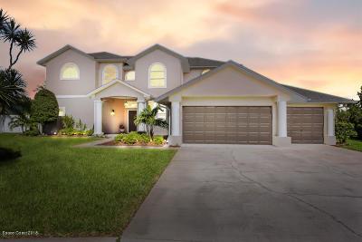 Merritt Island Single Family Home For Sale: 3055 Savannahs Trail