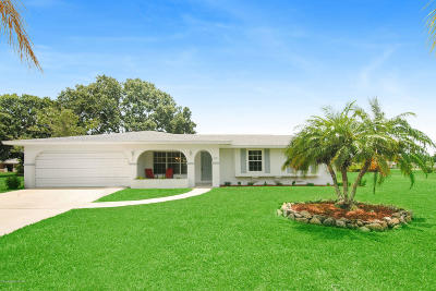 Palm Bay Single Family Home For Sale: 722 Apollo Circle NE