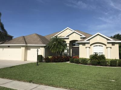 Rockledge Single Family Home For Sale: 3975 Waterford Drive