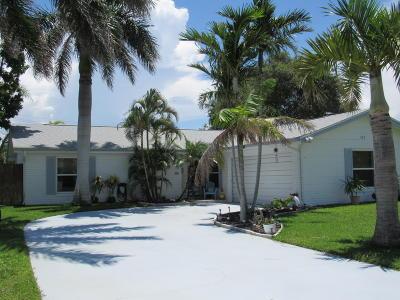 Merritt Island Single Family Home For Sale: 465 Monitor Street