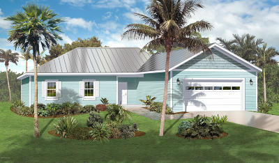 Palm Bay Single Family Home For Sale: 201 Santa Martia Street SW #NC1679