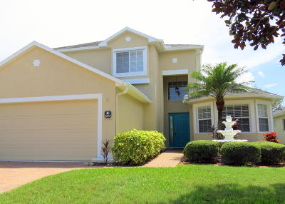 Rockledge Single Family Home For Sale: 2857 Mondavi Drive