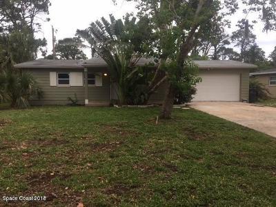 Merritt Island Single Family Home For Sale: 1730 Newfound Harbor Drive