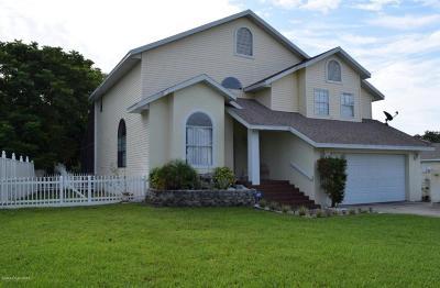Titusville Single Family Home For Sale: 849 Trailwood Avenue