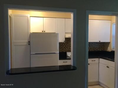 Cocoa Beach Condo For Sale: 5600 N Banana River Boulevard #15