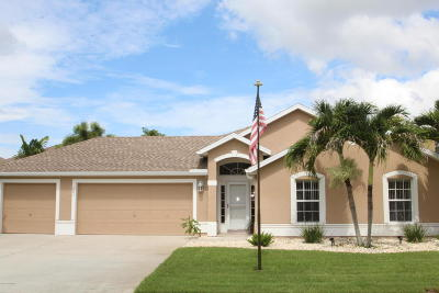 Rockledge Single Family Home Backups: 285 Tunbridge Drive