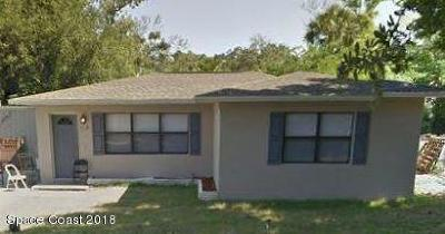 Titusville Single Family Home For Sale: 1309 Ronald Street