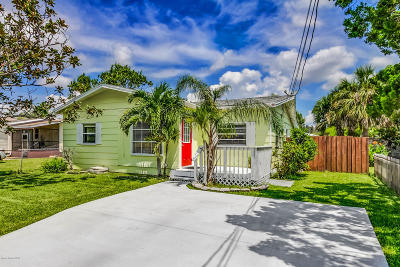Merritt Island Single Family Home For Sale: 1684 Georgiana Drive