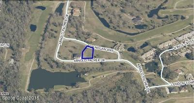 Titusville Residential Lots & Land Contingent: 2039 Arnold Palmer Drive
