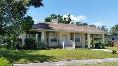 Cocoa Single Family Home For Sale: 2115 Mac Farland Drive