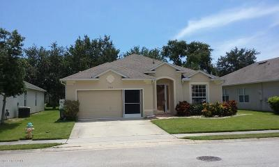 Rockledge Single Family Home For Sale: 966 Riviera Point Drive
