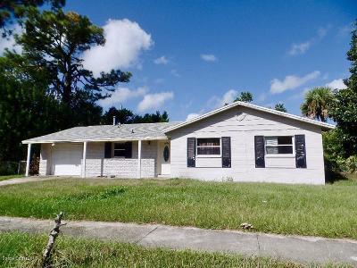 Titusville Single Family Home For Sale: 1434 Prospect Street