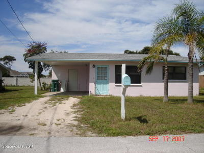 Indialantic Single Family Home For Sale: 173 S Atlantic Avenue