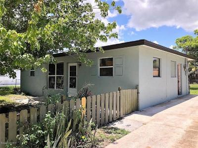 Melbourne Single Family Home For Sale: 420 Rutgers Avenue